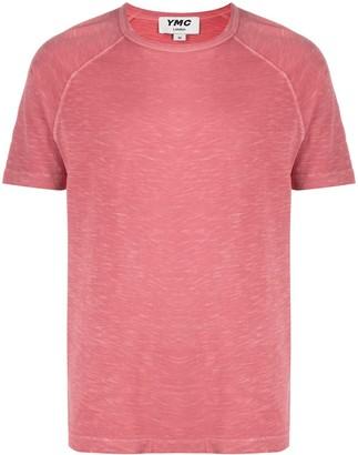 YMC crew-neck cotton T-shirt