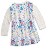 GUESS Girl's Mixed-Material Sweater (6-16y)