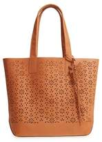 Frye Carson Perforated Logo Leather Tote