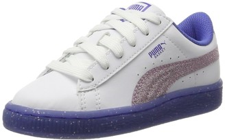 Puma Unisex Kids' Basket Iced Glitter 2 PS Trainers