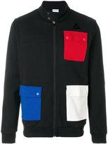 Le Coq Sportif jacket with multicolour patch pockets