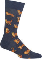 Hot Sox Men's Cat Socks