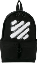 Off-White spray paint backpack - men - Cotton - One Size