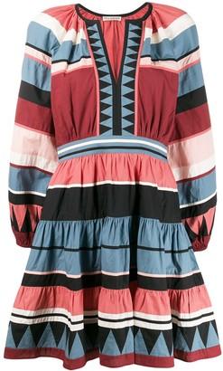 Ulla Johnson Mika striped cotton dress