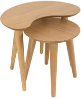 Malmo Nest of Lamp Tables Timber: Natural Oak