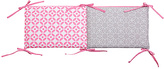 Trend Lab Pink Lily Crib Bumpers