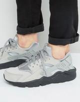 Nike Air Huarache Run Trainers In Grey 852628-003