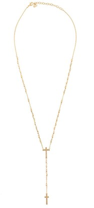 DSQUARED2 Crucifix Rosary Necklace