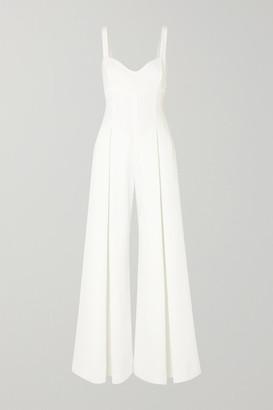 Emilia Wickstead Ellen Cloque Jumpsuit - White