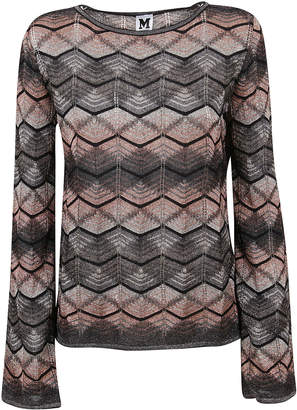 Missoni Multicolor Striped Lurex T-shirt