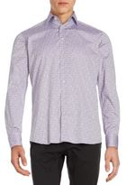 Etro Paisley Jacquard Cotton Button-Down Shirt