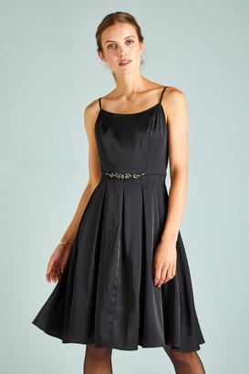 Yumi Strappy Diamante Prom Dress
