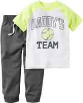 Carter's 2-pc. Playwear Tee & Pants Set - Baby Boys newborn-24m