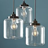 west elm 3-Jar Glass Chandelier