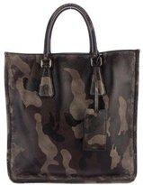 Prada Camouflage Saffiano Shopper