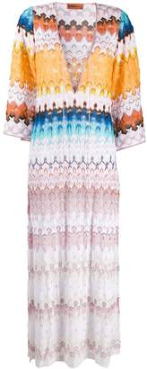 Missoni Mare knitted maxi dress
