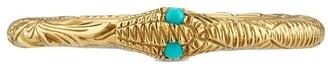Gucci Ouroboros engraved ring