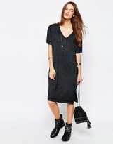 Asos Casual Burnout T-shirt Dress