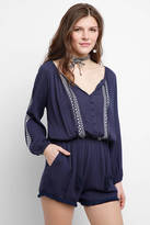 Heartloom Embroidered Romper