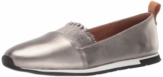 Gentle Souls Women's Luca-Ruffle Slip On Sneaker