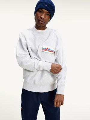 Tommy Hilfiger Mountain Logo Pocket Comfort Fit Sweatshirt