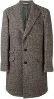 Brunello Cucinelli buttoned tweed coat
