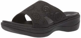 AdTec Ad Tec Women's Sandal Comfortable Sandals with Rubber Sole Designer Flip Flops (Black Numeric_6)