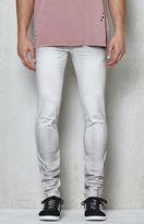 PacSun Skinniest Art Gradient White Stretch Jeans