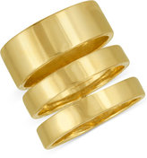 Rachel Roy Gold-Tone Three-Row Statement Ring