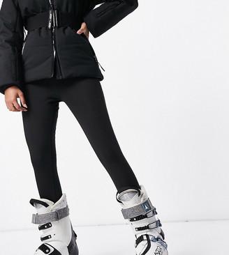 ASOS 4505 Petite skinny ski pants with stirrup in white