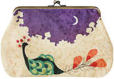 Smallflower Peacock Kimono Clutch Bag by Chidoriya (1 Bag)