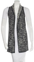 Marissa Webb Wool-Blend Long Line Vest
