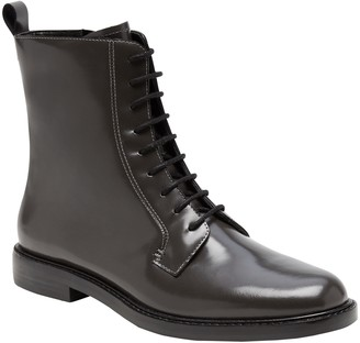 Banana Republic Leather Combat Boot