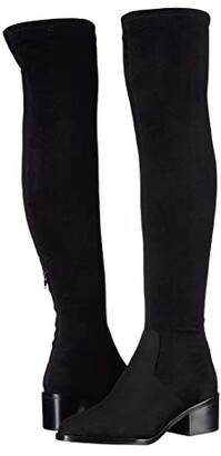 Steve Madden Georgette Over the Knee Boot (Black) Women's Shoes