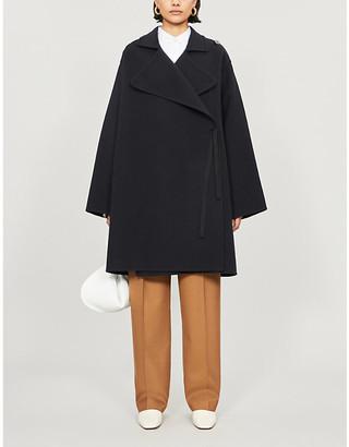 Jil Sander Marcia belted wool coat