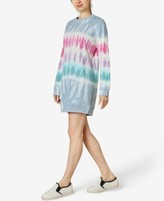 Thumbnail for your product : Ultra Flirt Juniors' Tie-Dyed Sweatshirt Dress
