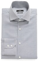 BOSS Regular Fit Geometric Dress Shirt