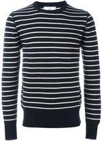 Ami Alexandre Mattiussi striped knitted sweater