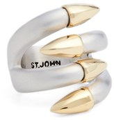 St. John Women's Claw Cocktail Ring