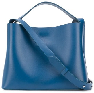 Aesther Ekme Mini Sac magnetic style satchel bag