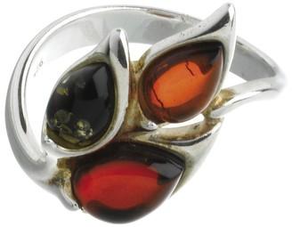 Nature D'ambre Nature d 'Ambre 3111217Women's Ring Silver 925/1000Amber
