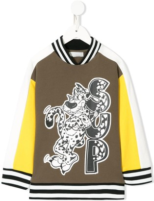 Stella McCartney Kids Tiger Sup sweatshirt