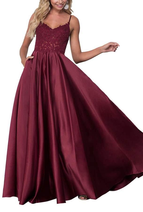 65f4f2e2fe Formal Burgundy Dress - ShopStyle Canada