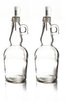 Jay Import Clear Oil Bottles - Set of 2