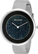 Skagen Women's SKW2384 GITTE Analog Display Analog Quartz Silver Watch