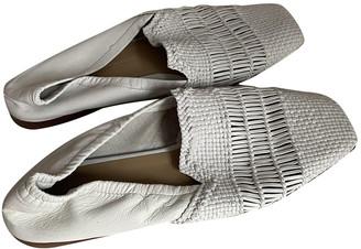 Melvin & Hamilton Melvin&hamilton White Leather Flats