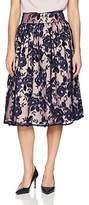 Eliza J Women's Embroidered Midi-Skirt