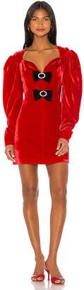 Marianna SENCHINA Velvet Dress