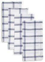 Sur La Table Checkered Linen Napkins, Set of 4