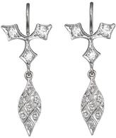 Cathy Waterman Acorn Fringe Drop Earrings